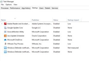 disable startup program windows10 1