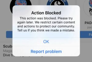 How to Remove Action Blocked On Instagram 2