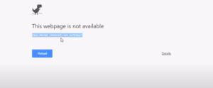 How to fix dns probe no internet error 1