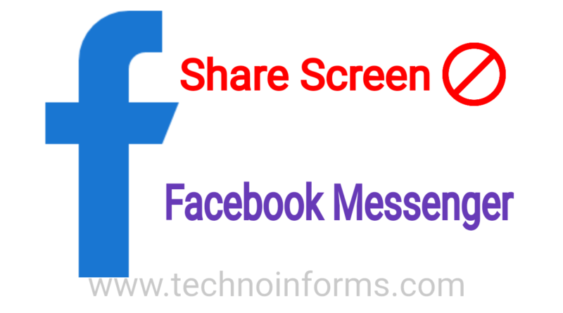 Users will now be able to share screen